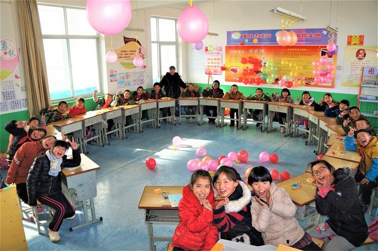 淳化县黄甫学区举行2020年庆元旦文艺汇演活动