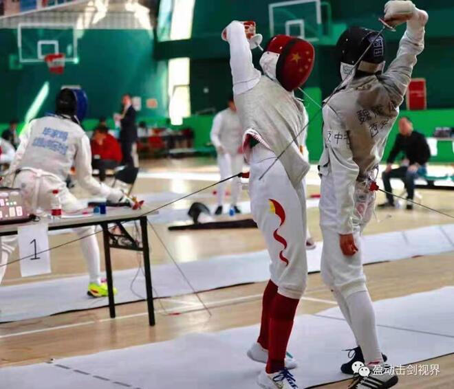 西安高级中学学生击剑队获奖喜报