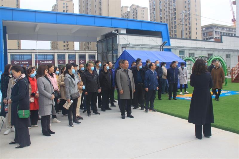 眉县中学举行重阳节主题活动